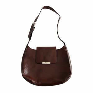 Fossil Leather Magnetic Closure Shoulder Purse